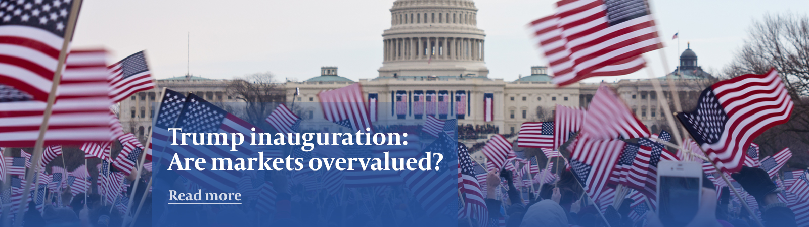 Trump inauguration: market overview