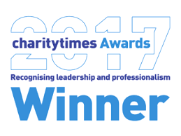 Charity Times 2015 award winner