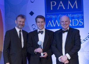 Christopher Macklin picks up the latest PAM award for James Hambro & Partners