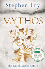 Cover of Mythos book by author Stephen Fry